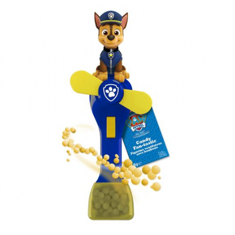 Paw Patrol Character Battery Toy Fan & Candy Sweets - Bon Bon Buddies 8g